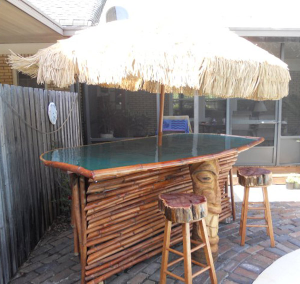 thatch roof bar